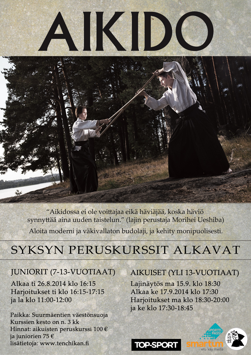 aikido-peruskurssi-syksy-2014